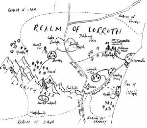 map of Ærworuld
